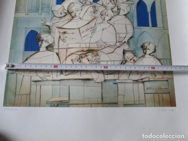 Arte: Silvano Vismara reproducción obra gráfica Impresión digital firmada y numerada lápiz 32/99 - Foto 7 - 62516432