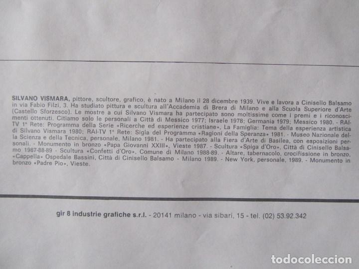 Arte: Silvano Vismara reproducción obra gráfica Impresión digital firmada y numerada lápiz 32/99 - Foto 10 - 62516432