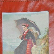 Arte: CROMOLITOGRAFIA , LIT. DE LOS ANDALUCES BARNA , R. MARTI . M. PUJADAS , SANTANDER . Lote 67734525
