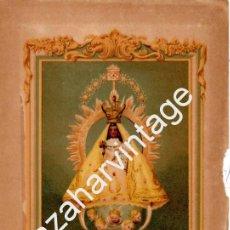 Arte: CROMOLITOGRAFIA ORIGINAL : NUESTRA SEÑORA DE LA CARIDAD DEL COBRE (1886),152X228MM. Lote 69399637