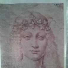 Arte: LEONARDO. GIOVANE BACCO. EDIZIONI D´ARTE NOVA LUX. FIRENZE. LÁMINA ITALIANA.. Lote 72097407