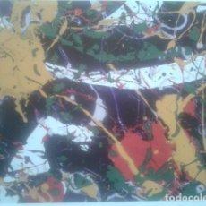 Arte: SAM FRANCIS - CUATRICOMIA, NUMERADA A MANO 5/500 - GRAN FORMATO 64,5 X 42,5 CM - (EDICION LIMITADA). Lote 83123032