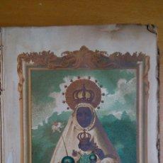 Arte: CROMOLITOGRAFIA NTRA. SRA. DE MONTSERRAT EN CATALUÑA. DEL LIBRO ADVOCACIONES DE LA VIRGEN 1886. Lote 79030101