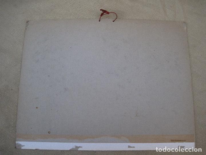 Arte: CALENDARIO O ALMANAQUE DE PARED- LAMINA EN CARTON DURO - AYUNTAMIENTO DE MADRID - AÑO 1968. - Foto 3 - 83488572