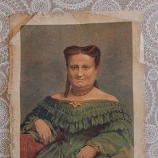 Arte: CROMOLITOGRAFIA - MARIA CRISTINA DE BORBON. Lote 83555300