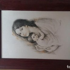 Arte: OBRA DE ARTE DE VICENTE ROSO. Lote 90864315