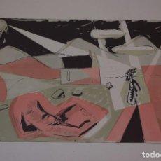 Arte: KARL RÖDEL. JÚPITER STRAHLEND II. CROMOLITOGRAFÍA. TITULADA,FIRMADA,NUMERADA A LÁPIZ POR EL ARTISTA. Lote 90978015