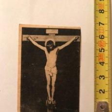 Arte: CRISTO CRUCIFICADO DE VELÁZQUEZ CROMOLITOGRAFÍA (H.1930?). Lote 97872628