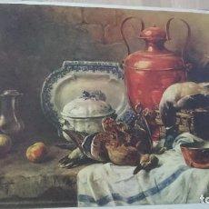 Arte: CROMOLITOGRAFÍA PRIMERA MITAD SIGLO XX - PUBLICIDAD O DECORACIÓN -2 -. Lote 98900799