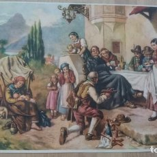 Arte: CROMOLITOGRAFÍA PRIMERA MITAD SIGLO XX - PUBLICIDAD O DECORACIÓN -6 -. Lote 98900843
