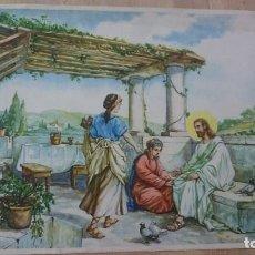 Arte: CROMOLITOGRAFÍA PRIMERA MITAD SIGLO XX - PUBLICIDAD O DECORACIÓN -9 -. Lote 98900883