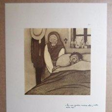 Arte: CASTELAO (RIANXO, A CORUÑA 1886-BUENOS AIRES 1950) FACSÍMIL 24X34 NOS EDICIÓN /110. Lote 100162555