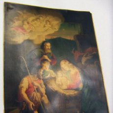 Arte: BONITA CROMOLITOGRAFIA RELIGIOSA SIGLO XIX 48X64 CM. Lote 102452819