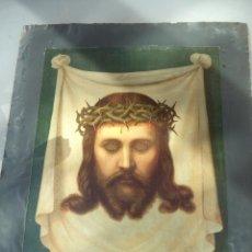 Arte: LA FAZ DE CRISTO SIGLO XIX CROMOLITOGRAFIA ANTIGUA. Lote 103634739