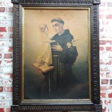 Arte: CROMOLITO DE SAN ANTONIO FINALES SIGLO XIX. Lote 103943087
