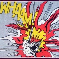 Arte: ROY LICHTENSTEIN POSTER - WHAAM ! RIGHT-HAND PANEL. Lote 104011339