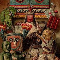 Arte: ELEMENTOS CULTURALES AMERICANOS SUDAMÉRICA FOLKLORE PERUANO BOLIVIANO COLOMBIANO. Lote 112344155