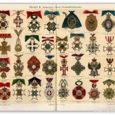 Arte: MEDALLAS ORDENES MILITARES EUROPEAS GALONES AL MÉRITO MILITAR CONDECORACIONES . Lote 113067791
