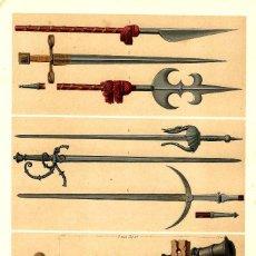 Arte: ARMAS S XIII Y XIV ARMAS BLANCAS LOMBARDA ARTILLERÍA ESPADAS ALABARDAS PEDRO EL CRUEL FERNANDO III. Lote 113604791
