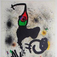 Arte: JOAN MIRÓ (BARCELONA, 1893-MALLORCA, 1983) LITOGRAFÍA OFFSET COLORES 1979 DE 51X82 PAPEL 54X89CMS. . Lote 114451759