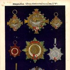 Arte: MEDALLAS CONDECORACIONES ESPAÑOLAS ORDEN ALFONSO XII MERITO MILITAR MEDALLA MILITARIA ESPAÑOLA. Lote 115486115