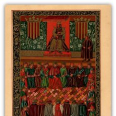 Arte: JAIME I PRESIDE CORTES DE MERIDA CATALUÑA REINO DE ARAGON IDUS DE MARZO HISTORIA ESPAÑA. Lote 115707743
