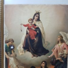 Arte: CARMEN, 32X43CM, CROMOLITOGRAFIA IMPRESA EN SUIZA, AÑOS 20. Lote 118211070