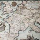 Arte: CROMLIT/ GRAB/ MAP ORIGINAL- PIERRE DERVEAUX- ABADIAS DEL OCCIDENTE HISTORICAS Y VIVAS-ENMARCADO. Lote 120351531