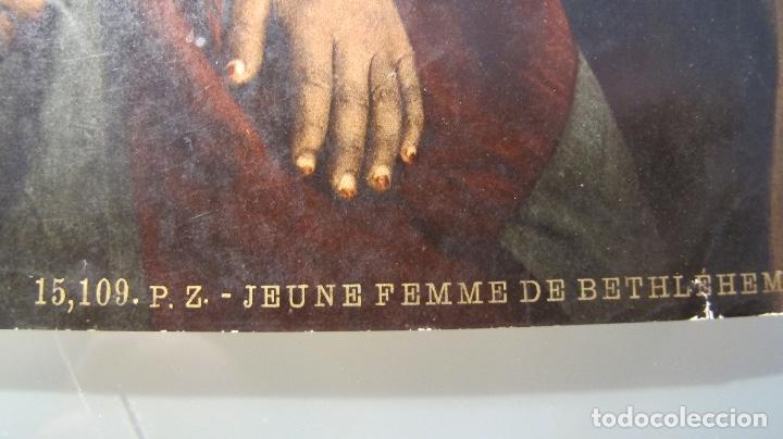 Arte: 3 bonitas cromolitografías antiguas - Foto 2 - 120814027