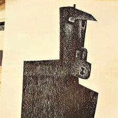 Arte: IBARROLA EN GALERÍA TEMPS EB C/ COCINAS 5-7 VALENCIA. AÑOS 70. Lote 121120415