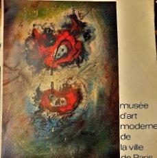 Arte: WOLS EN MUSÉE D´ART MODERNE DE LA VILLE DE PARIS 1974. Lote 121121051