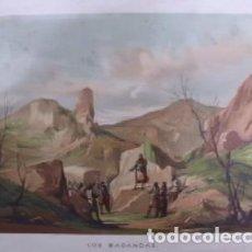 Arte: CROMOLITOGRAFIA HISTORIA: LOS BAGANDAS G-HISTORIA-020. Lote 129964611
