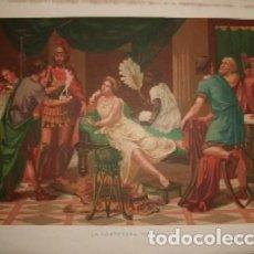 Arte: CROMOLITOGRAFIA DE ARTE: LA CORTESANA GRIEGA G-ARTE-014. Lote 129972623
