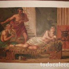 Arte: CROMOLITOGRAFIA DE ARTE: LEAENA G-ARTE-016. Lote 129972763