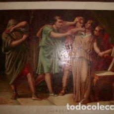 Arte: CROMOLITOGRAFIA DE ARTE: LUCRECIA G-ARTE-017. Lote 129972827