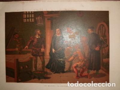 CROMOLITOGRAFIA DE ARTE: LA MADRE DE KEPLER G-ARTE-020 (Arte - Cromolitografía)