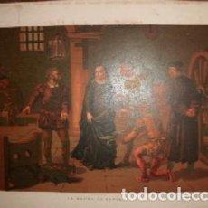 Arte: CROMOLITOGRAFIA DE ARTE: LA MADRE DE KEPLER G-ARTE-020. Lote 130157315