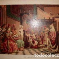 Arte: CROMOLITOGRAFIA DE ARTE: EL FEUDALISMO G-ARTE-021. Lote 130157375