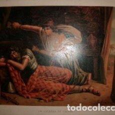 Arte: CROMOLITOGRAFIA DE ARTE: LA ESTATUA DE CARNE G-ARTE-022. Lote 130157419