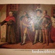 Arte: CROMOLITOGRAFIA DE ARTE: …Y SI NO OS PARECE SUFICIENTES, GOBERNARE CON ESOS G-ARTE-023. Lote 130157479