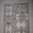 Arte: CROMOLITOGRAFIA ORNAMENTOS DEL ROCOCO FRANCES LUIS XV DEKORATIVE VORBILDER. Lote 130861660