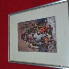 Arte: CUADRO CROMOLITOGRAFIA MEDIADOS DEL SIGLO XX. Lote 132665702