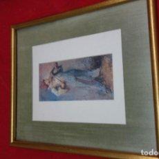 Arte: CUADRO DE CROMOLITOGRAFIA DE MEDIADOS DEL SIGLO XX. Lote 132668722