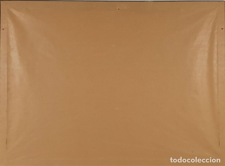 Arte: ABSTRACTO. CROMOLITOGRAFIA SOBRE PAPEL. FIRMADO MAX POVARS ?. SIGLO XX. - Foto 4 - 135415634