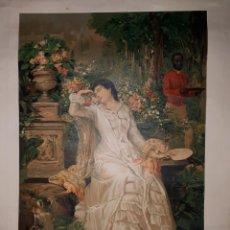 Arte: R. MARTI ALSINA CROMOLITOGRAFIA 1879 J. SEIX EDITOR CAMPI. Lote 146746862