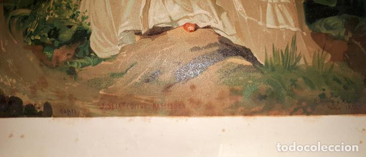 Arte: R. MARTI ALSINA CROMOLITOGRAFIA 1879 J. SEIX EDITOR CAMPI - Foto 3 - 146746862