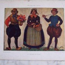 Arte: CROMOLITOGRAFÍA. HOLLANDISCHE TYPEN I. DEKORATIVE VORBILDER XXII.. Lote 152671598