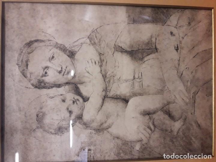 Arte: Virgen con niño - Foto 2 - 159637906