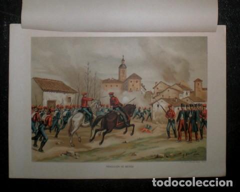 J. ALAMINOS: RENDICION DE BERGA. 1893. CROMOLITOGRAFIA - CARLISMO (Arte - Cromolitografía)