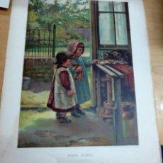Arte: CROMOLITOGRAFÍA INFANTIL INGLESA SIGLO XIX. Lote 165503778